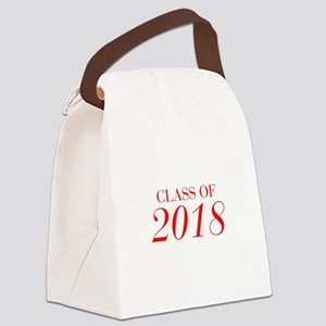 CLASS OF 2018-Bau red 501 Canvas Lunch Bag