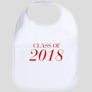 CLASS OF 2018-Bau red 501 Bib