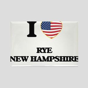 I love Rye New Hampshire Magnets