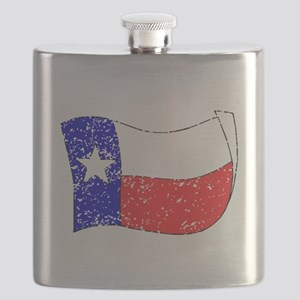 Texas State Flag (Distressed) Flask