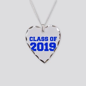 CLASS OF 2019-Fre blue 300 Necklace