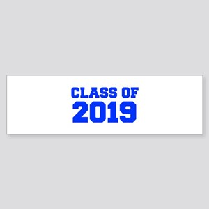 CLASS OF 2019-Fre blue 300 Bumper Sticker