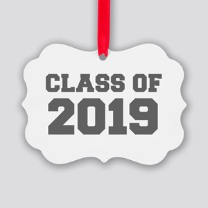 CLASS OF 2019-Fre gray 300 Ornament
