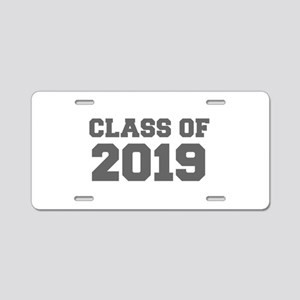 CLASS OF 2019-Fre gray 300 Aluminum License Plate