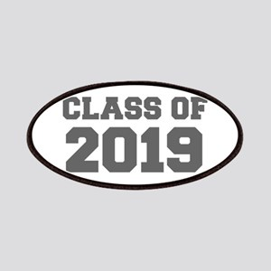CLASS OF 2019-Fre gray 300 Patch