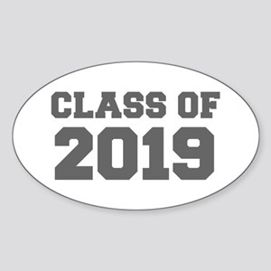 CLASS OF 2019-Fre gray 300 Sticker