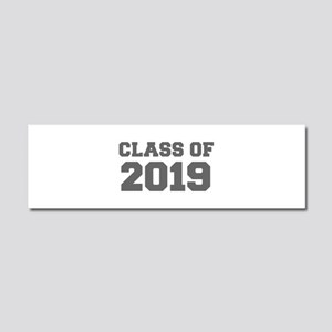 CLASS OF 2019-Fre gray 300 Car Magnet 10 x 3