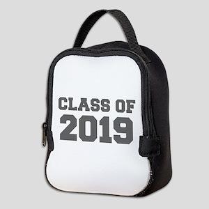 CLASS OF 2019-Fre gray 300 Neoprene Lunch Bag
