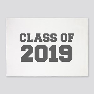 CLASS OF 2019-Fre gray 300 5'x7'Area Rug