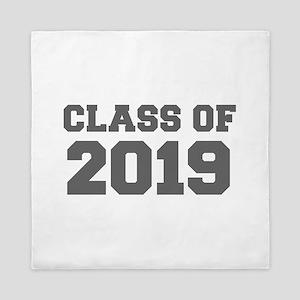 CLASS OF 2019-Fre gray 300 Queen Duvet