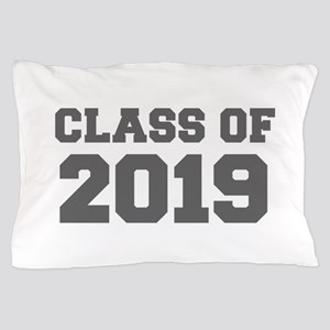 CLASS OF 2019-Fre gray 300 Pillow Case