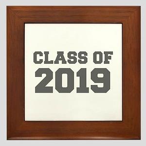 CLASS OF 2019-Fre gray 300 Framed Tile