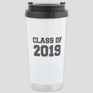 CLASS OF 2019-Fre gray 300 Travel Mug