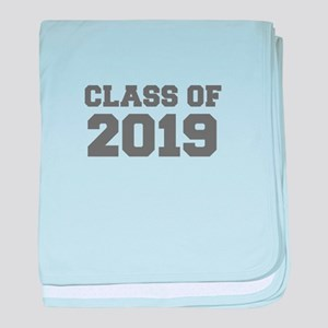 CLASS OF 2019-Fre gray 300 baby blanket