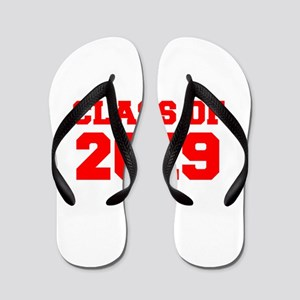 CLASS OF 2019-Fre red 300 Flip Flops