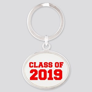 CLASS OF 2019-Fre red 300 Keychains