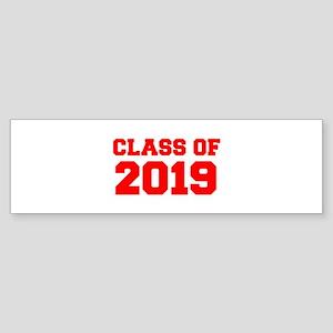 CLASS OF 2019-Fre red 300 Bumper Sticker