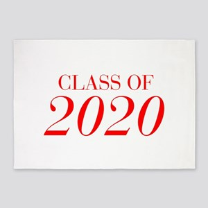 CLASS OF 2020-Bau red 501 5'x7'Area Rug