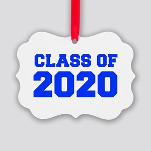 CLASS OF 2020-Fre blue 300 Ornament