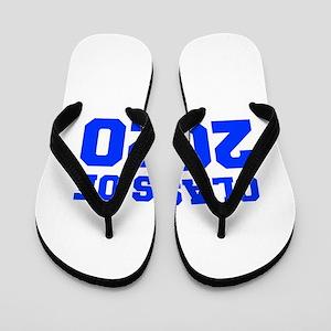 CLASS OF 2020-Fre blue 300 Flip Flops