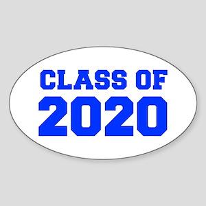 CLASS OF 2020-Fre blue 300 Sticker