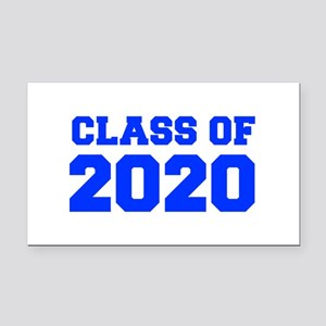 CLASS OF 2020-Fre blue 300 Rectangle Car Magnet
