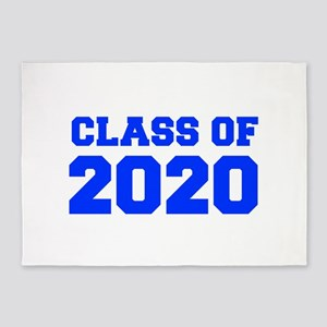 CLASS OF 2020-Fre blue 300 5'x7'Area Rug
