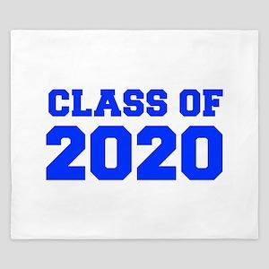CLASS OF 2020-Fre blue 300 King Duvet