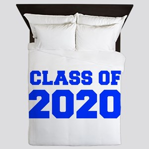 CLASS OF 2020-Fre blue 300 Queen Duvet