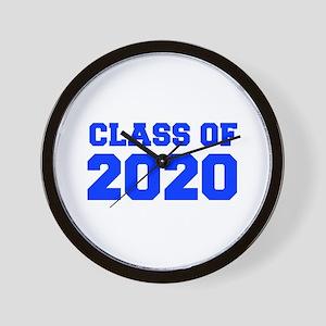 CLASS OF 2020-Fre blue 300 Wall Clock