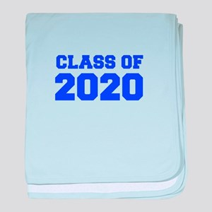 CLASS OF 2020-Fre blue 300 baby blanket