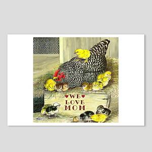We Love Mom! Postcards (package Of 8)