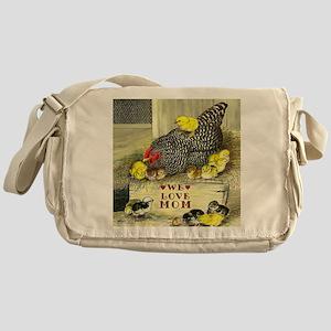 We Love Mom! Messenger Bag