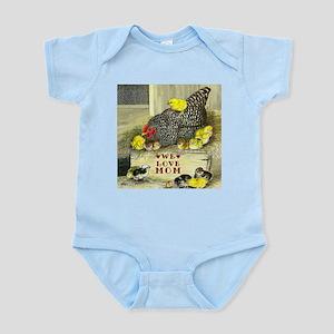 We Love Mom! Infant Bodysuit