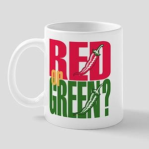 Red or Green? Mug