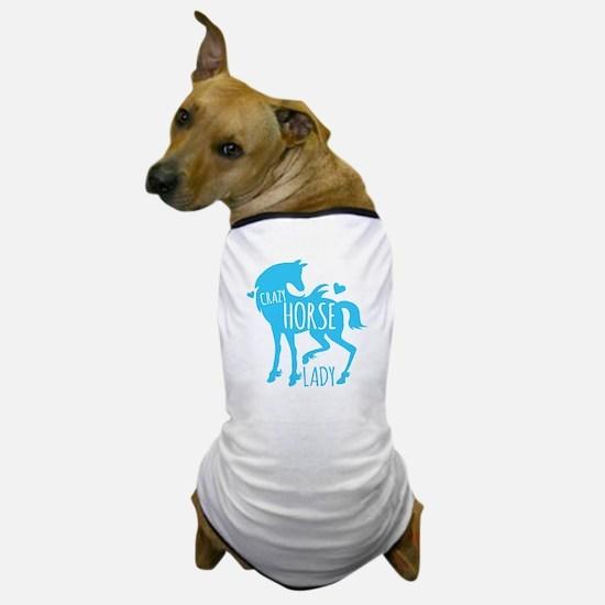 Crazy Horse Lady Dog T-Shirt