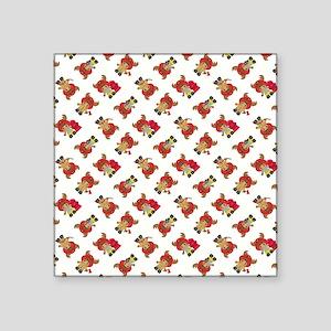 """FIRE MOOSE Square Sticker 3"""" x 3"""""""