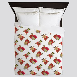 FIRE MOOSE Queen Duvet