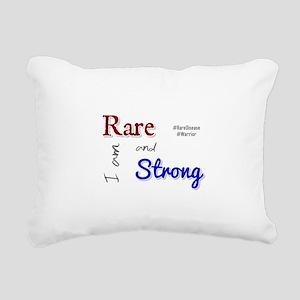 I am Rare and Strong Rectangular Canvas Pillow