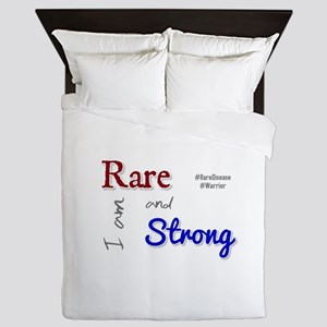 I am Rare and Strong Queen Duvet