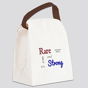 I am Rare and Strong Canvas Lunch Bag