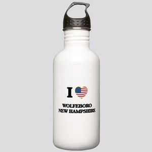 I love Wolfeboro New H Stainless Water Bottle 1.0L