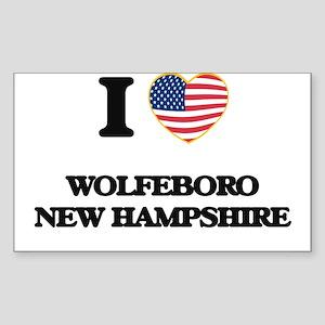 I love Wolfeboro New Hampshire Sticker