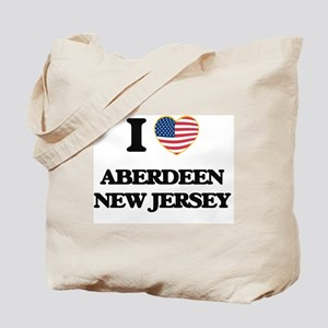 I love Aberdeen New Jersey Tote Bag