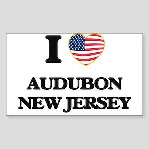I love Audubon New Jersey Sticker