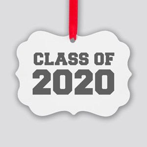CLASS OF 2020-Fre gray 300 Ornament