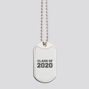 CLASS OF 2020-Fre gray 300 Dog Tags