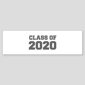 CLASS OF 2020-Fre gray 300 Bumper Sticker