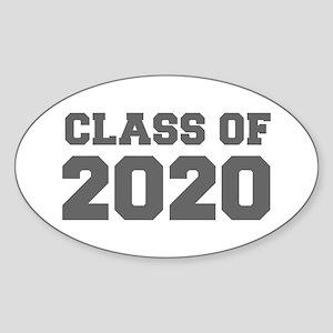 CLASS OF 2020-Fre gray 300 Sticker