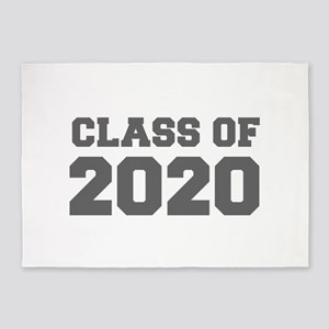 CLASS OF 2020-Fre gray 300 5'x7'Area Rug